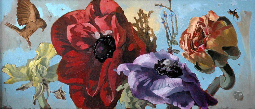141 Anemone & Ranunculus<br>SOLD
