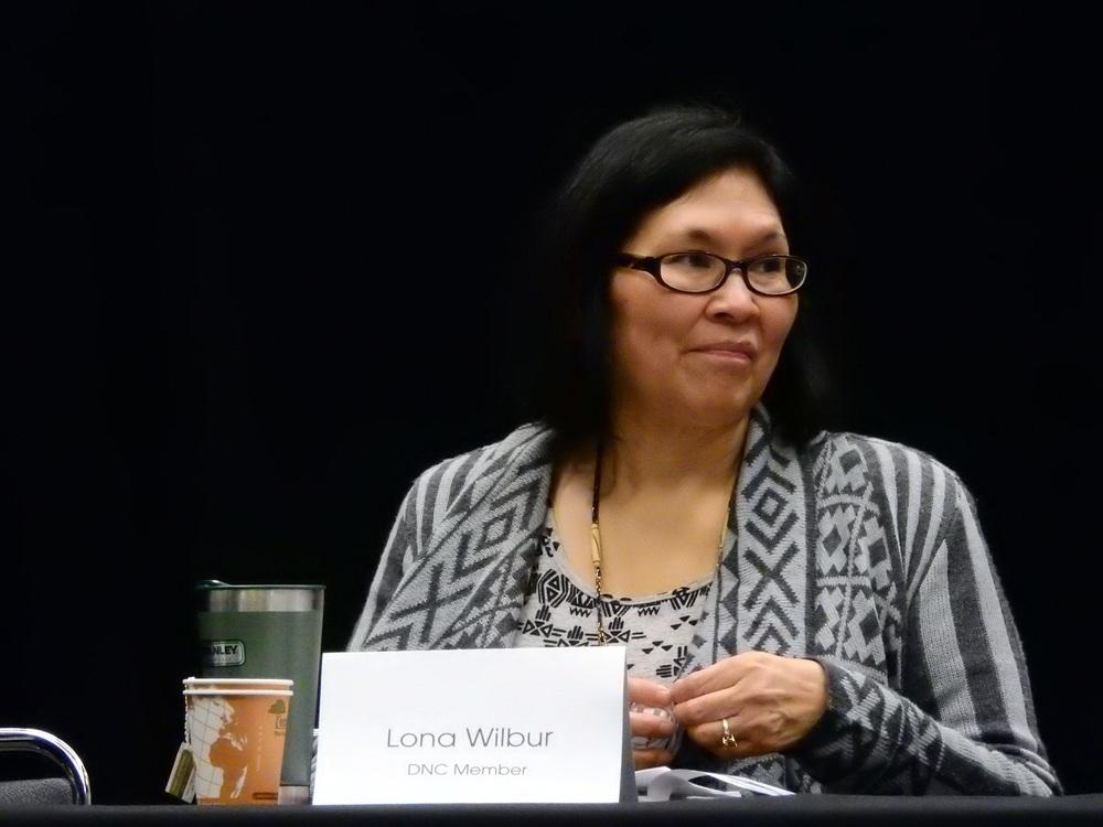 DNC woman Lona Wilbur