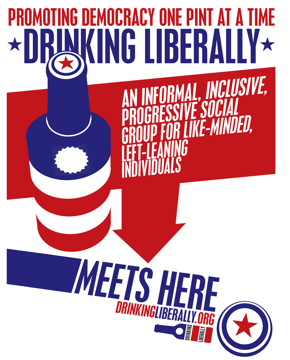 Drinking Liberally Bellingham chapter's next meeting is 7 p.m. Wednesday, March 2 at the Horseshoe Cafe (113 W. Holly Street).