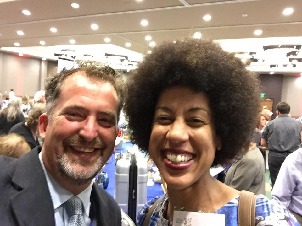 40th District Senator Kevin Ranker with OSPI candidate Erin Jones!