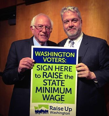 Bernie Sanders and Washington State Democratic Chair Jaxon Ravens want you to sign I-1433!