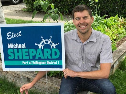Michael Shepard is a candidate for Port of Bellingham, District 1. He is endorsed by the 40th District Democrats.
