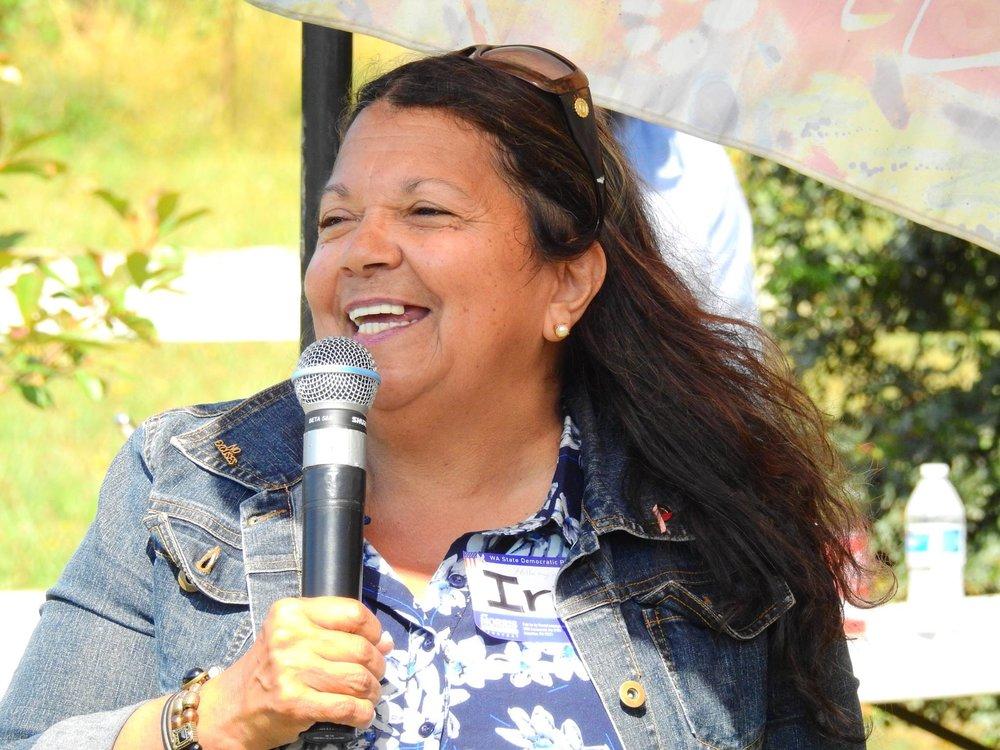 Mt. Vernon City Council candidate Iris Alicia Carias.