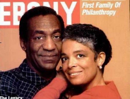 Camille with Bill in Happier Times.