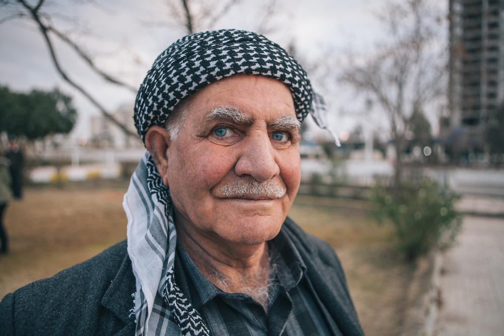 Iraqi Kurd.