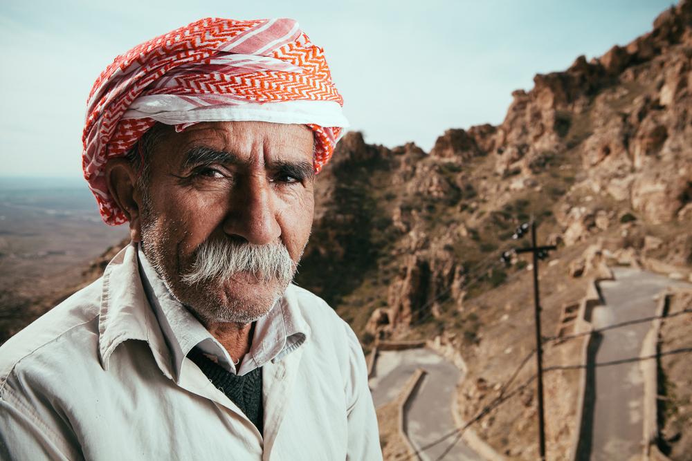 Yazidi man