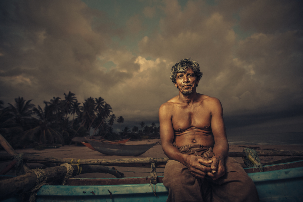 Fisherman, Tangalle, Sri Lanka