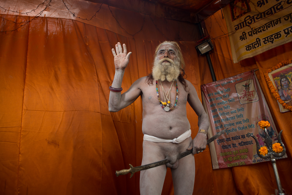 Sadhu at the Maha Kumbh Mela