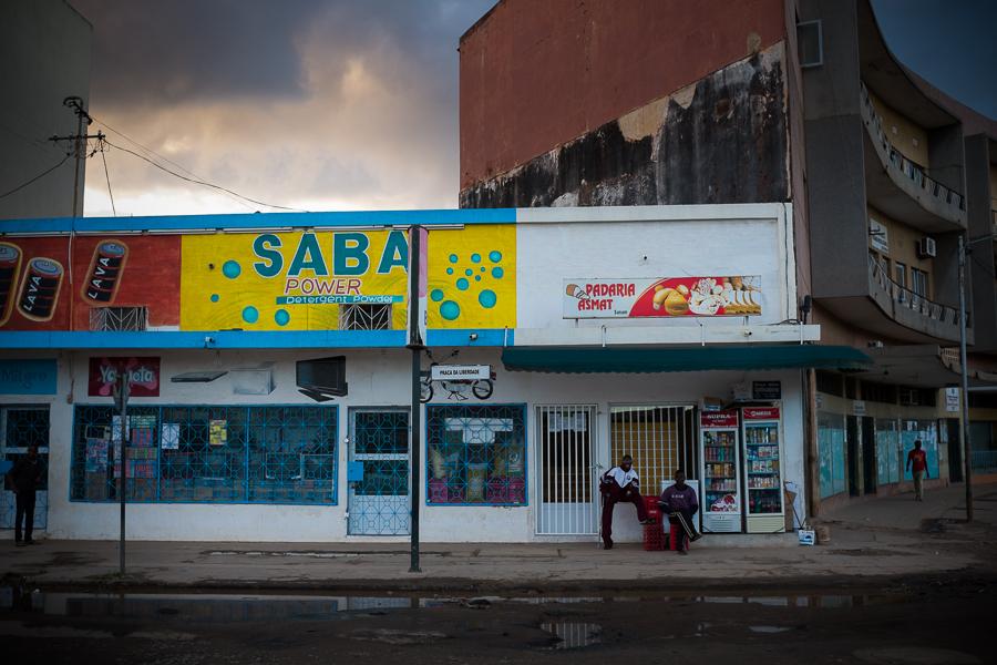 Nampula street scene, Mozambique