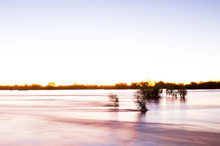 Evening on the Zambezi, Livingstone, Zambia