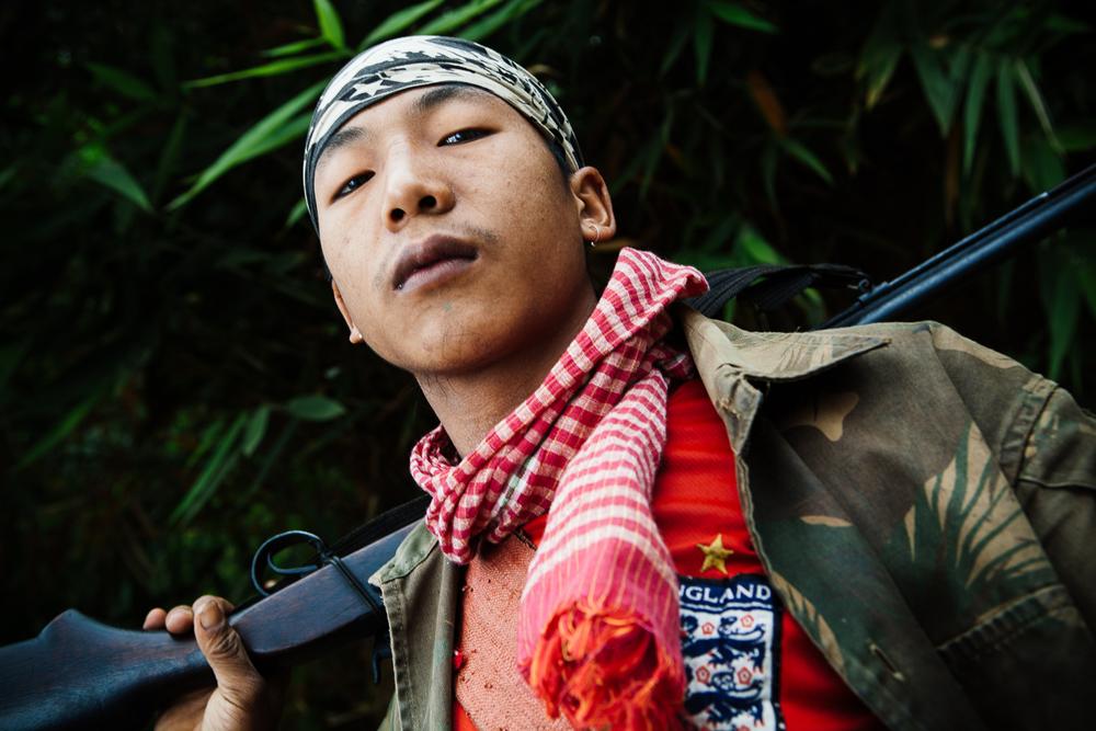 Hunter, Nagaland, India