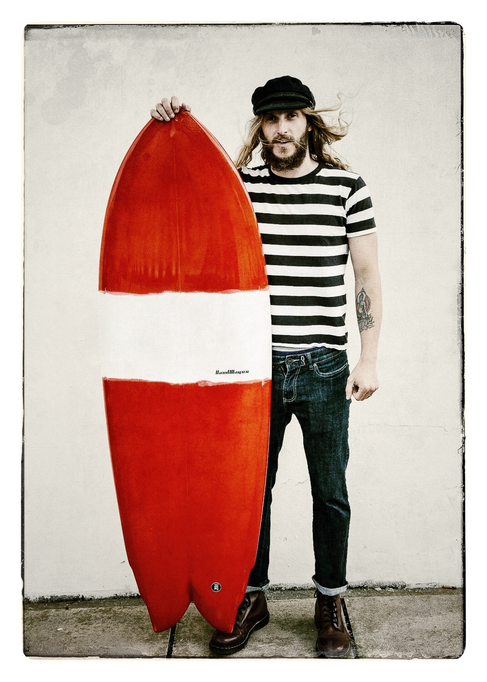 Chris Hartop - Surfboard shaper