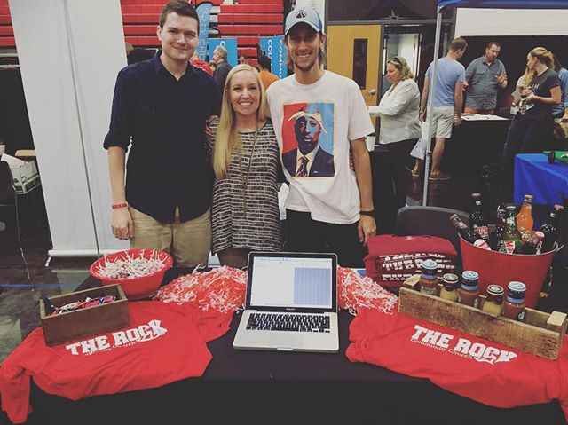 Some solid helpers today at the #SEUChurchExpo! #HUDDLE #SEU #TRCCLakeland