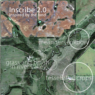 Inscribe 2.0 | inspired by the land