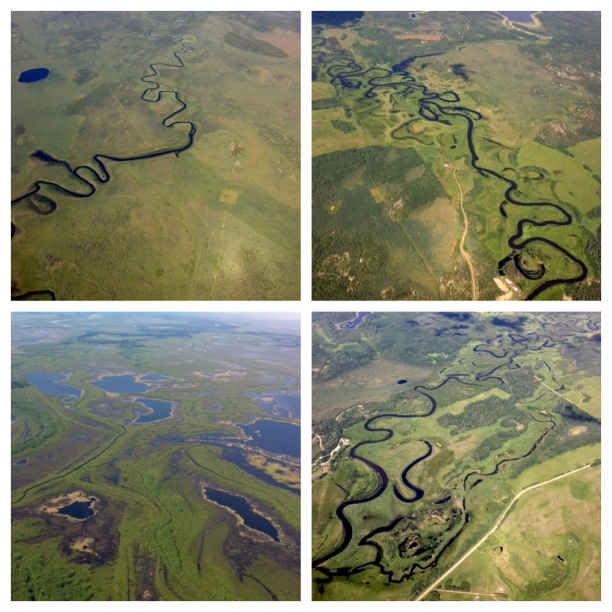 river meanders from northern Alberta | courtesy of Geoff Hancock c 2013