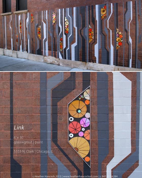 Link | public art mural | 5553 N Clark