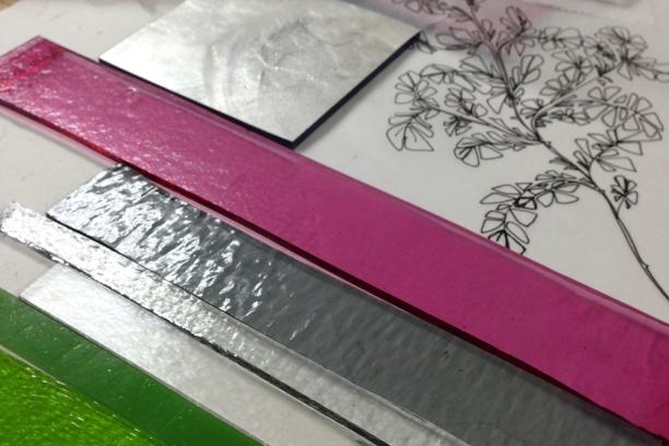 Proust project | palette for hawthorns | c Heather Hancock 2014
