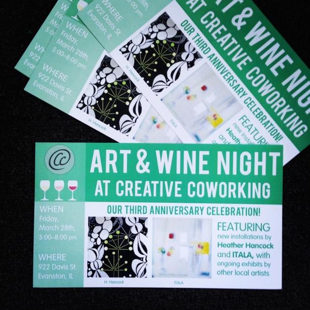 Creative Coworking | postcard