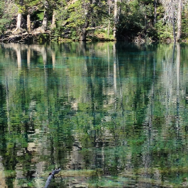 Grassi lake reflections | c Heather Hancock 2014