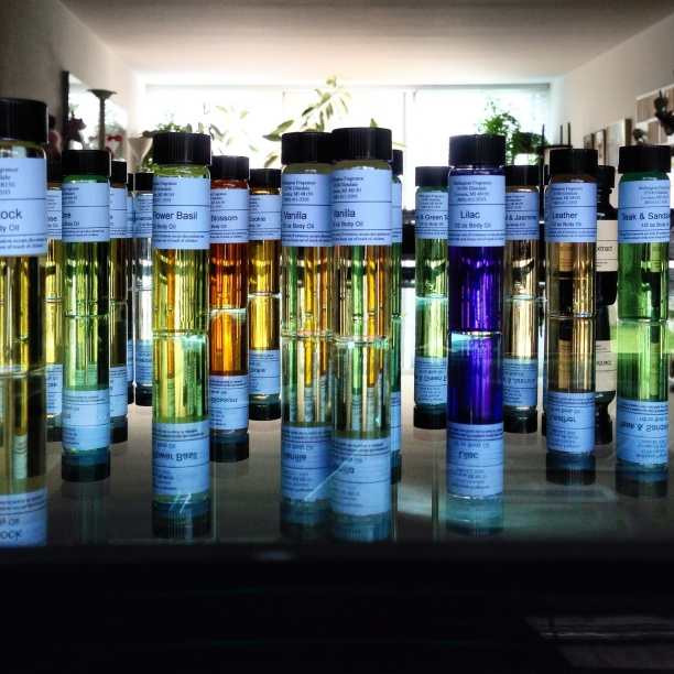 selecting scents | essential oils to be micro-encapsulated