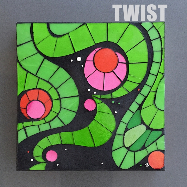 "Twist | 10"" x 10"" 
