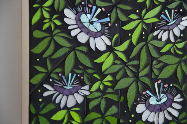 "detail | Passiflora | 12"" x 16"" 
