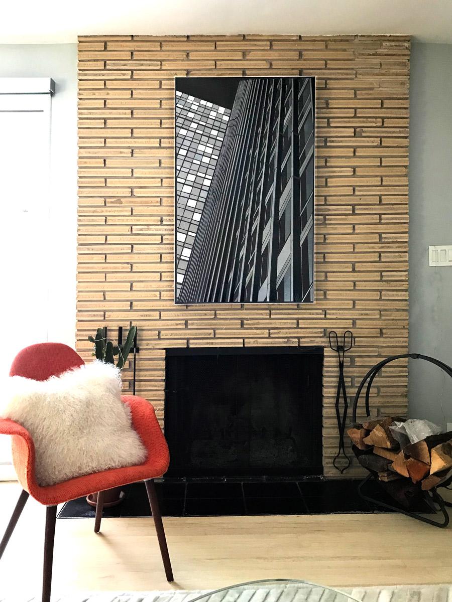 "Reflect 3.1 | Mies cityview | glass 30"" x 48"""