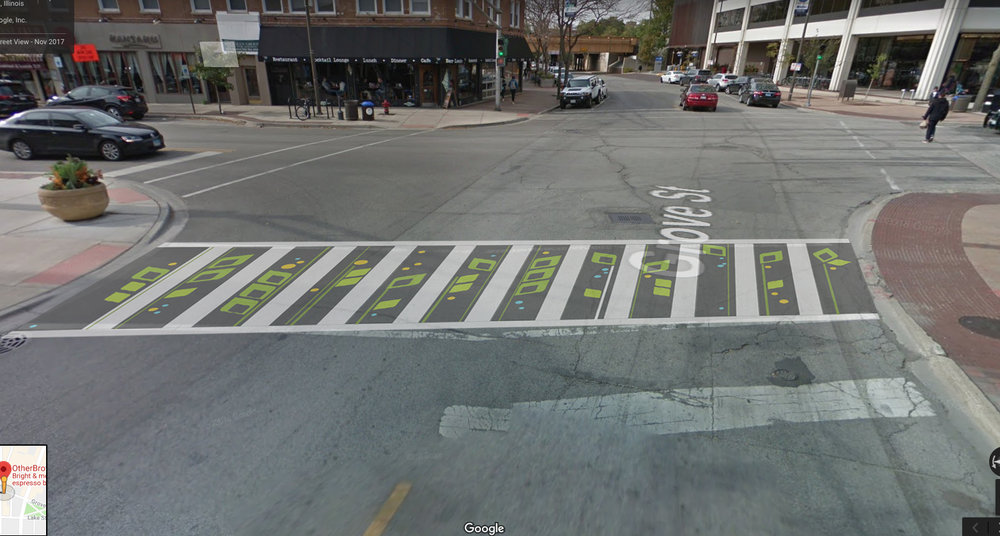 Grow | concept for crosswalk installation