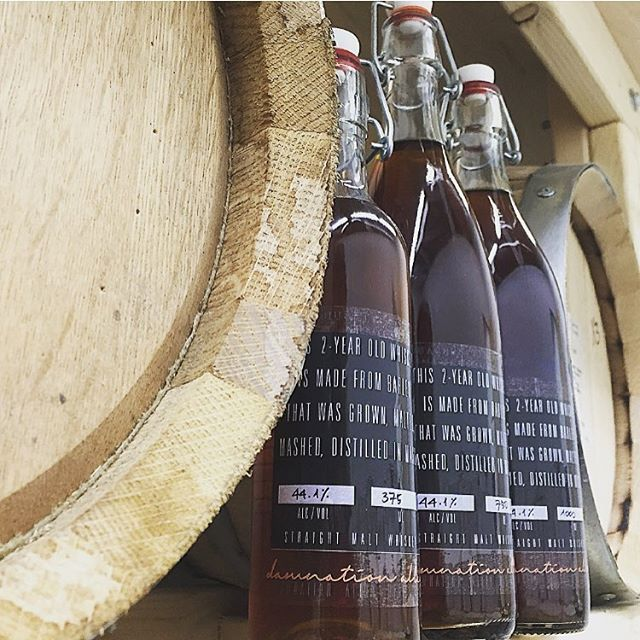 WHISKEY: 2 Year Aged Straight House Whiskey Bourbon Single Malt Export Mistletoe Whiskey Available 3/31: 2 Year Aged Straight Rye Whiskey