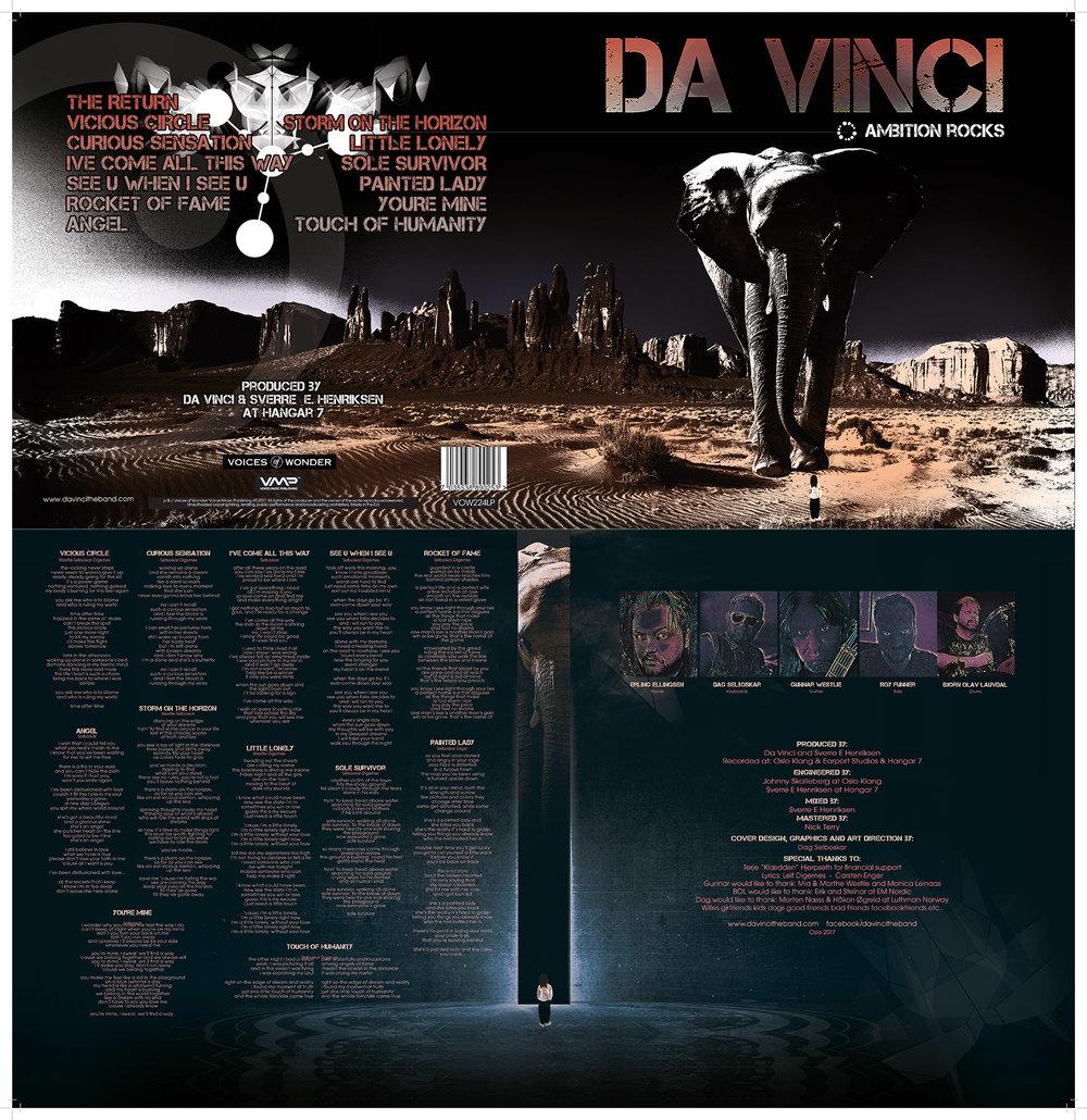 Vinylcover DaVinci - AmbitionRocks
