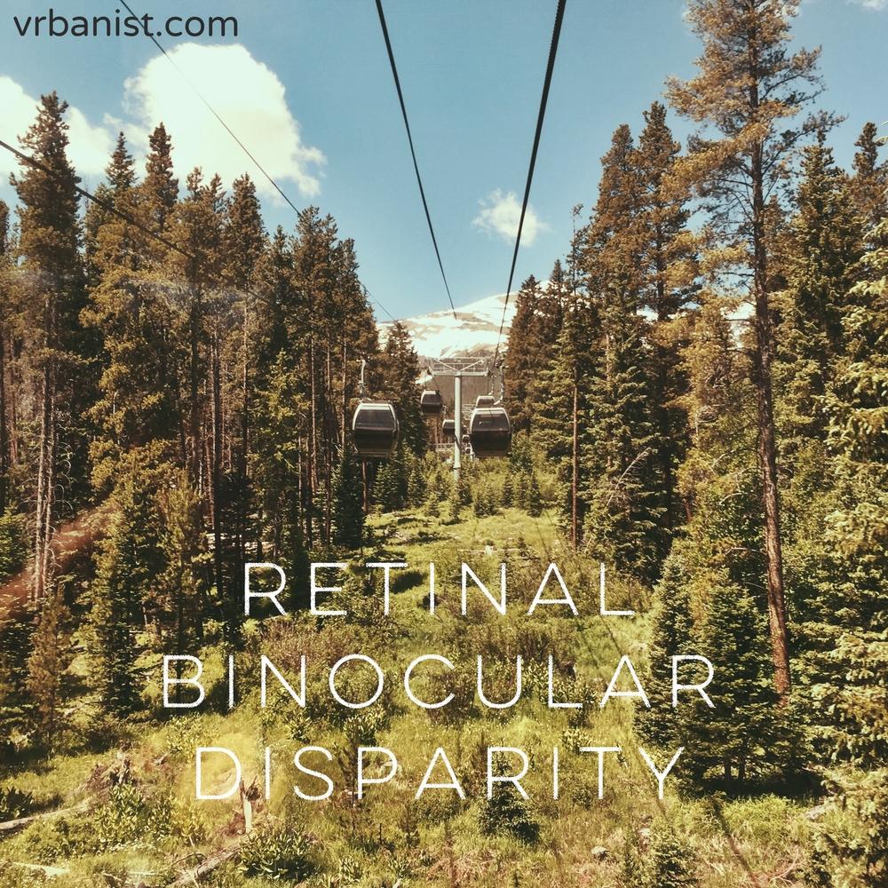 Retinal Binocular Disparity (RBD)