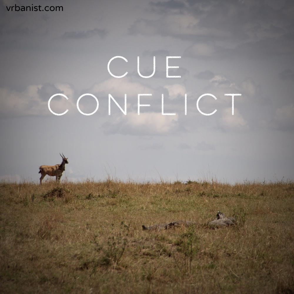 Cue Conflict