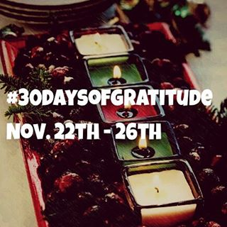 #30daysofgratitude coming up next...