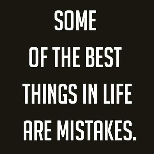 November 26th: I am thankful for my mistakes. They happen. Sometimes you see them coming and sometimes you don't. But regardless, some of the best things in life are mistakes.  If you don't make them, it means you aren't trying anything new. 🌱🌷🍁🍃🌾💎 #30daysofgratitude #grateful #gratitudemonth #gratitude #iam #wordporn #inspirationalquotes #inspiration #iamthankful #happythanksgiving #thanks #thankful #thankfulthursday #changeisnecessary #change #changeisgood #transcend #transformation #positiveenergy #positivethoughts #positivethinking #positive #loa #lawofattraction