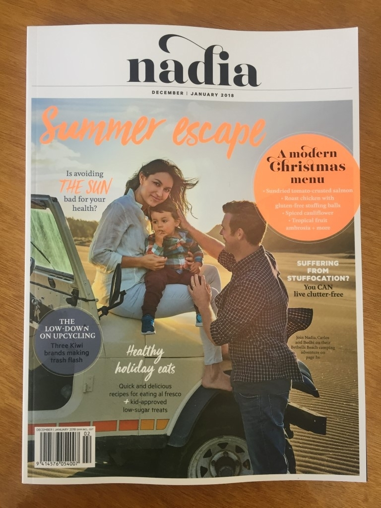Naida feature on At Large Audio and Upcycling. Dec / Jan 2018