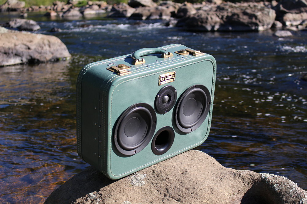 Portable Bluetooth Speaker Suitcase