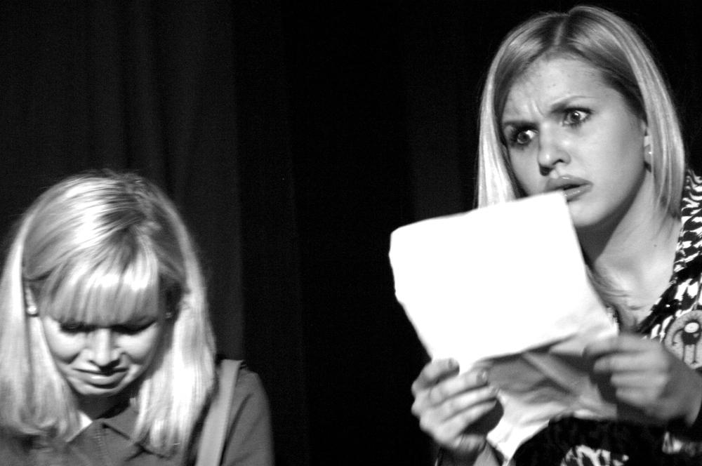 David Llorente.Teatro.Las tres hijas de Krapp