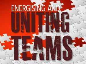 Energising and Uniting Teams - a presentation by keynote speaker Kevin Biggar