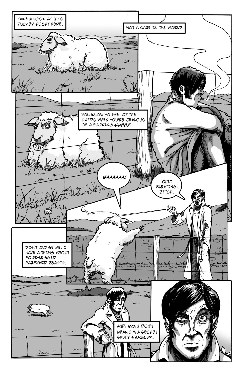 #4 page 16, inks and letters