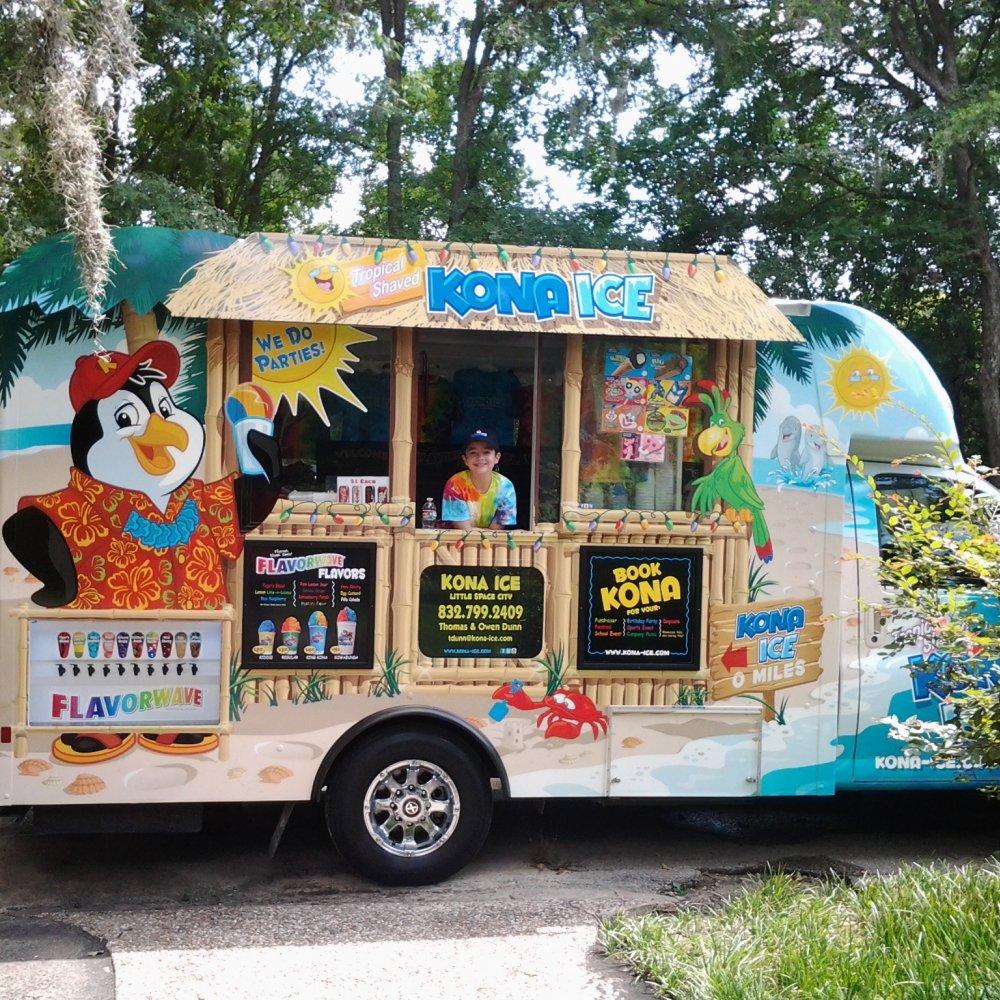 Kona Ice Snow Cone Truck