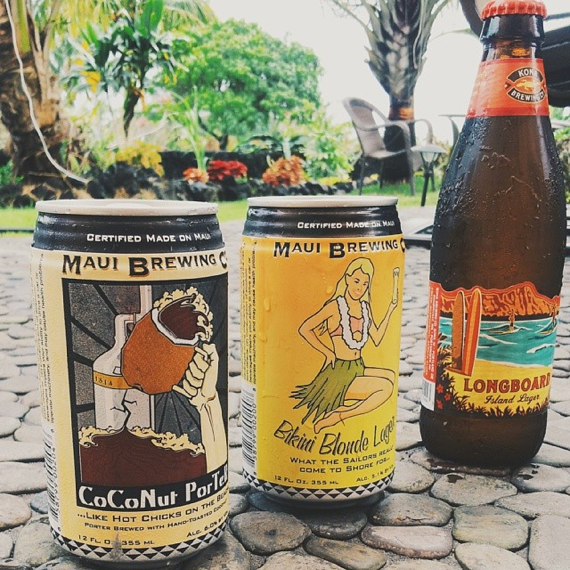 You share some delicious Hawaiian beers among friends or strangers, ( it's the same thing here ). You wonder if you dreamt that talking chicken but then decide to forget it because magical things are known to happen in Hawaii.