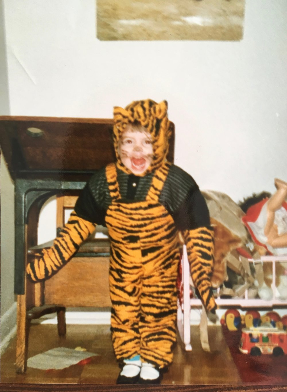 My best Tiger impression. ARE YOU SCARED?!