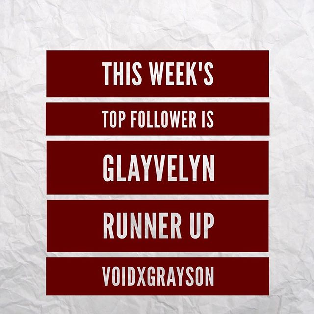 This weeks top follower is @glayvelynx top activity on all social networks combined plus over 900+ on Snapchat. Great work on all your edits too love them!! Dm color choice! This weeks runner up gets her pick of a Kylie cosmetics gloss and is @voidxgrayson with lots of activity over all social networks minus snapchat. Dm your gloss choice. 💕Next most Active was @sarazasa & @alyssabreanne_12 Shout out to @notacare_ @vwalls7613 & @ana_a908 @zarva_javaid @pattyfatt @miyoangel @cocosham_ @georgina_may_angus @_melaninmakeup.vibes_  you all earned activity points! Tysm for your support. Love you all! XO