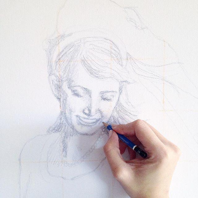 custom portrait / sketch