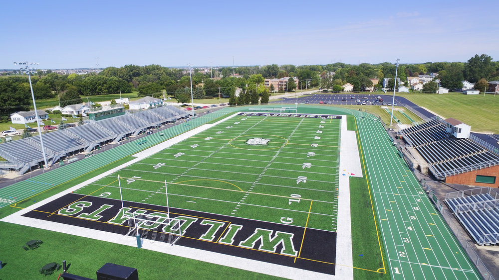 Plainfield High School - New Artificial Turf Stadium