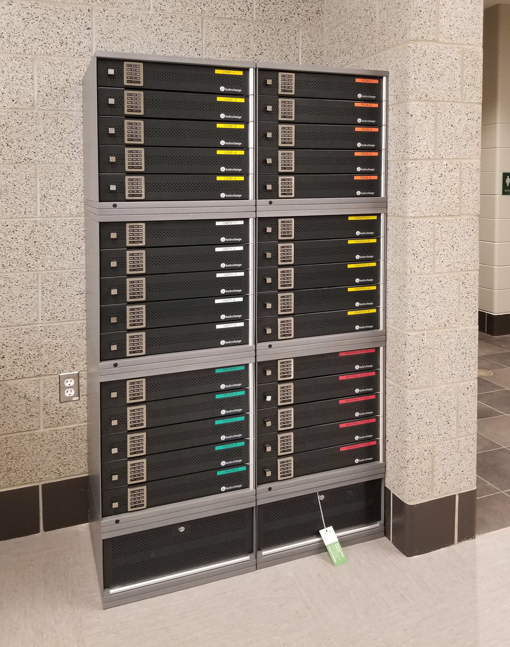 Technology Charging Lockers