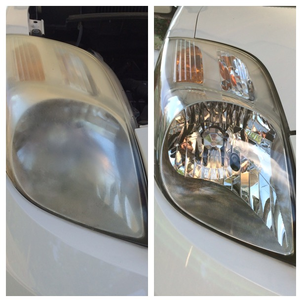 Headlight restoration greenwood sc
