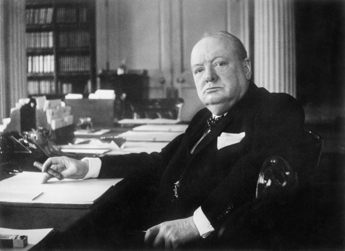 British Prime Minister Winston Churchill. Creative Commons