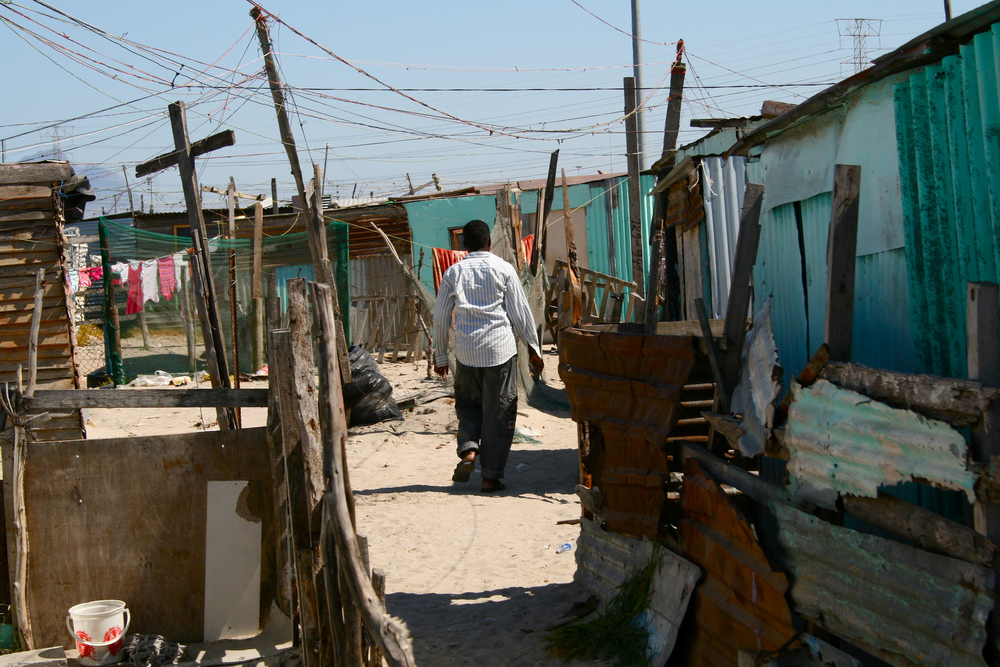 "This ""economic apartheid,"" as some observers now call it, is most noticeable in Khayelitsha, a Xhosa word meaning ""new home."" The largest single township in South Africa, it was formally established more than 30 years ago when vast numbers of black people were forcefully relocated from neighbouring Cape Town."