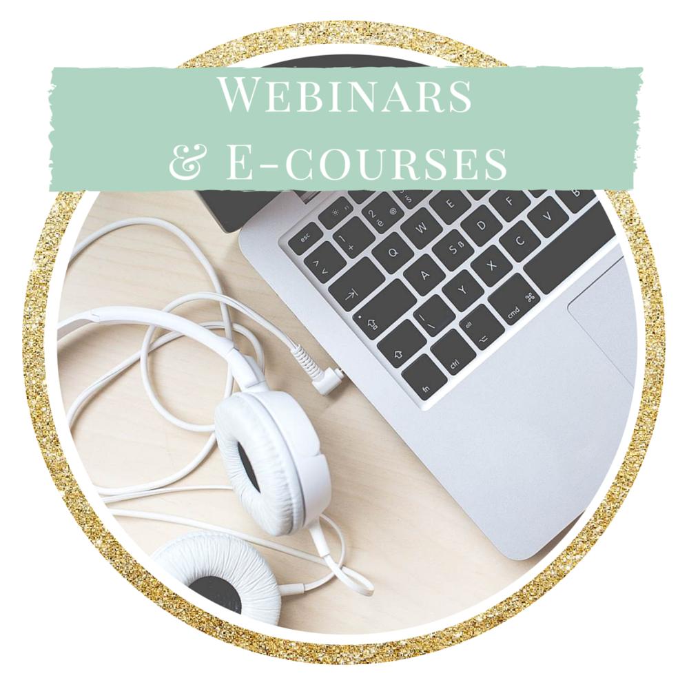 SGM Webinars & E-Courses